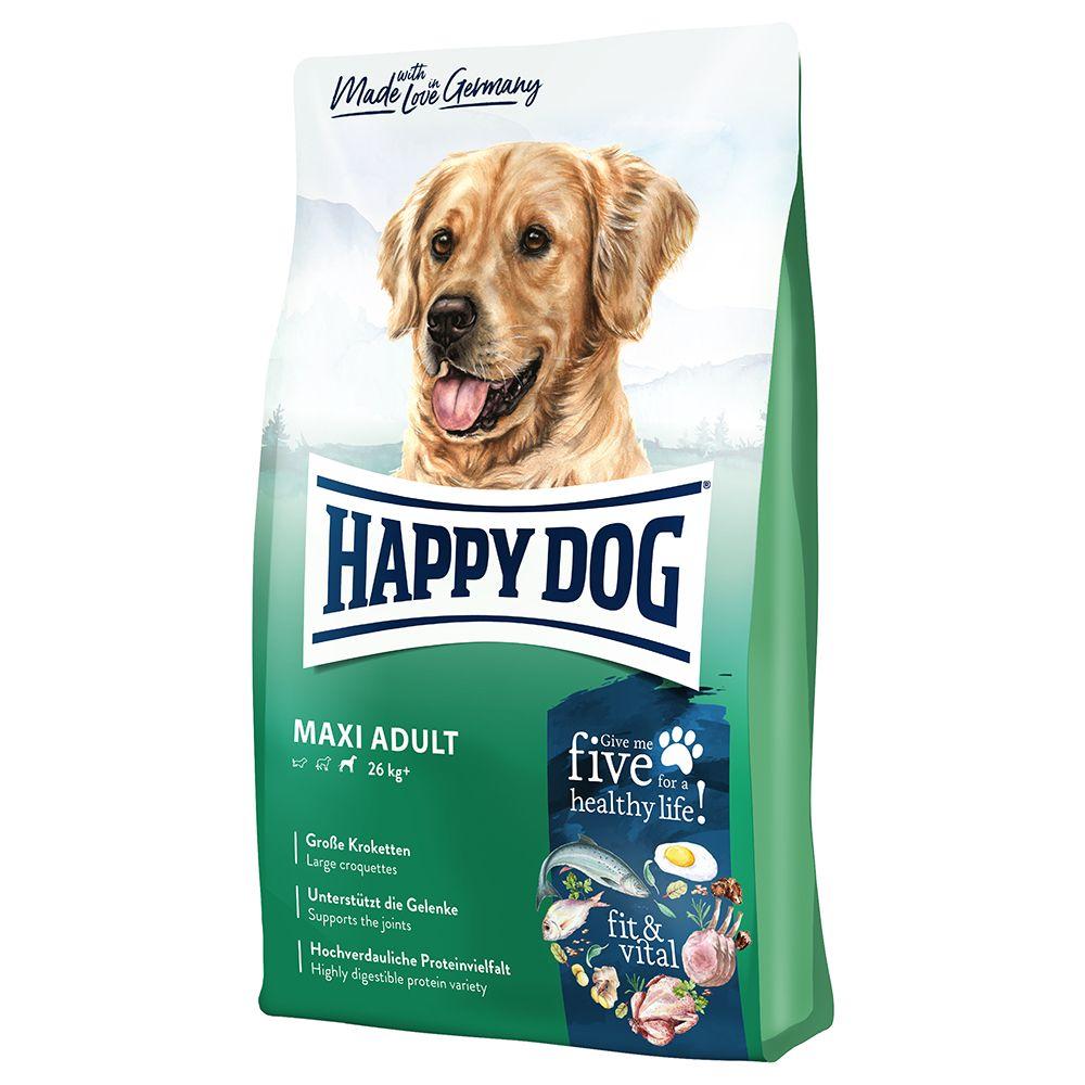 2x14kg Happy Dog Supreme fit & vital Maxi Adult - Croquettes pour chien