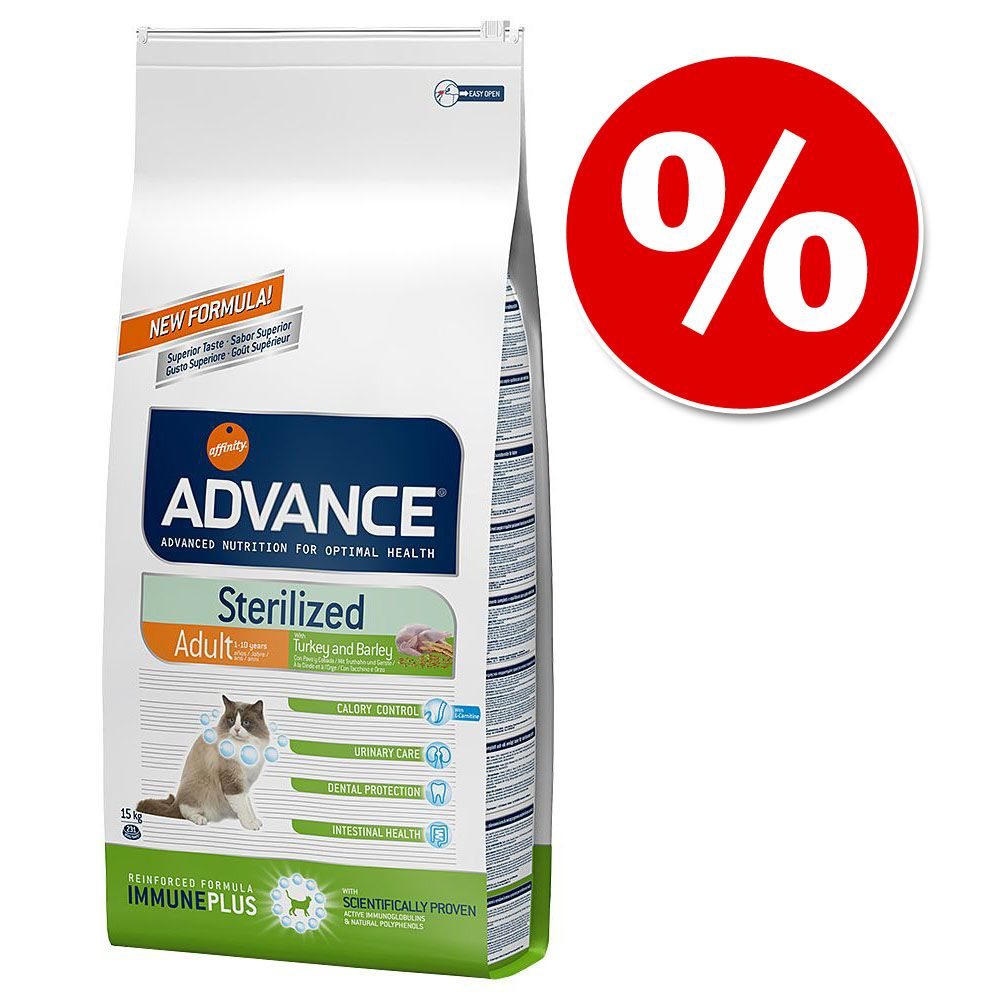 Foto Advance Affinity + 1 o 2 kg gratis! - Sterilized Sensitive Adult Salmone (9 + 1 kg gratis) Affinity Advance