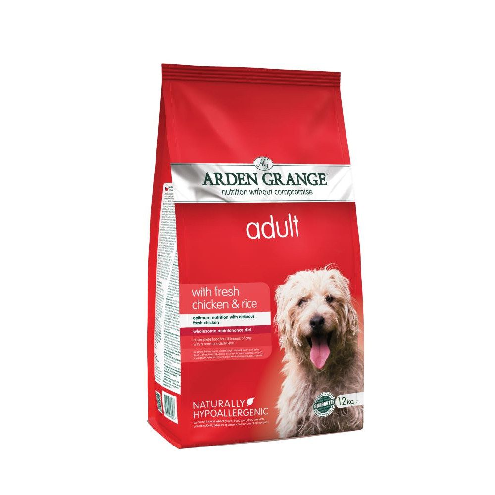 Adult Chicken & Rice Arden Grange Dry Dog Food