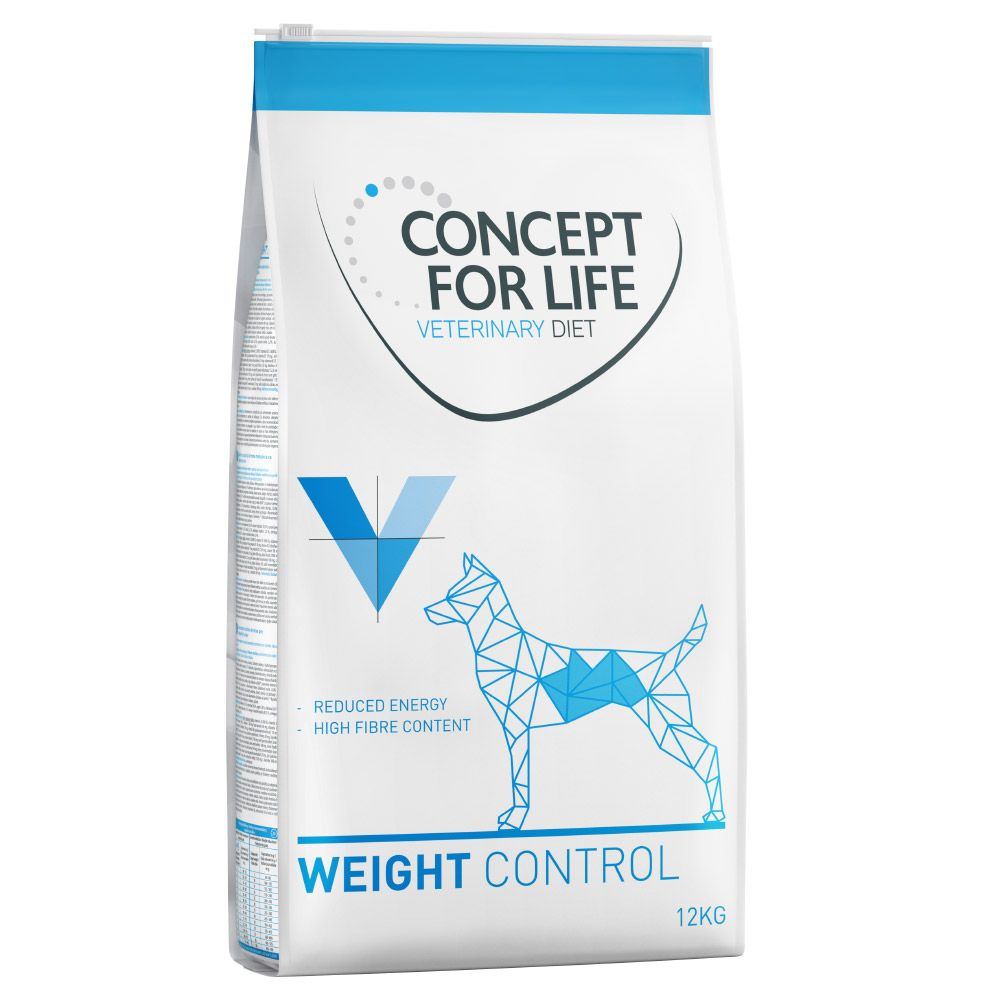 12kg Weight Control Concept for Life Veterinary Dry Dog Food