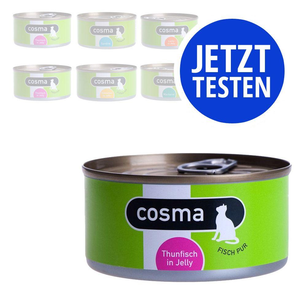 Image of Gemischtes Probierpaket: Cosma Original in Jelly - 6 x 170 g