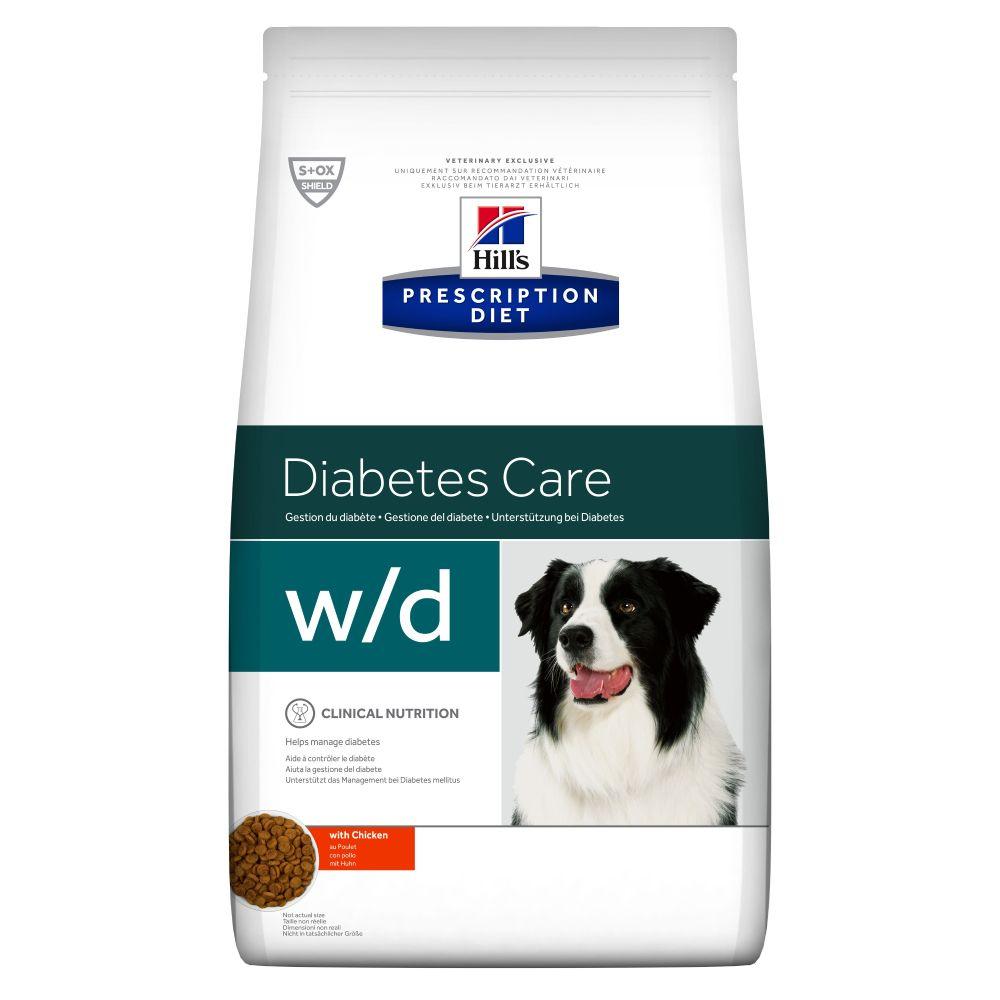 Hill's Prescription Diet w/d Diabetes Care - Chicken - Economy Pack: 2 x 12kg