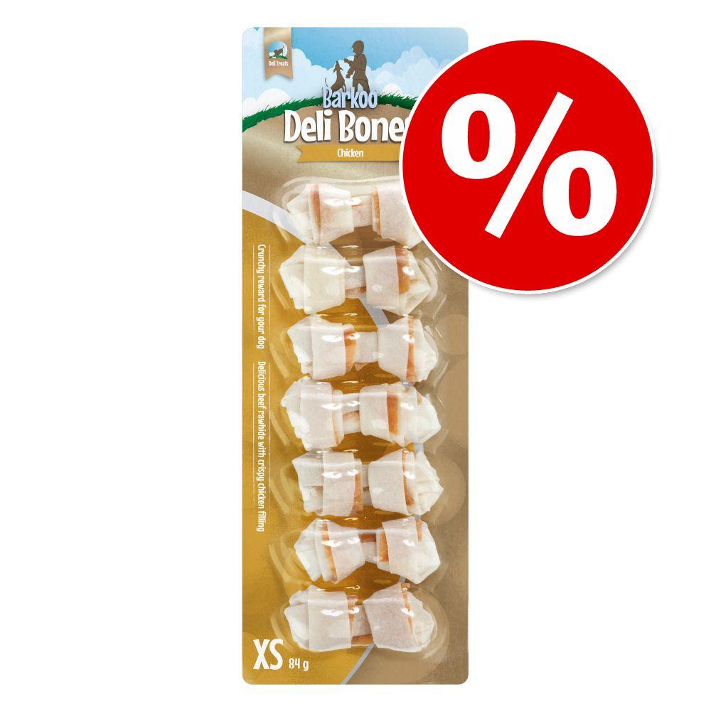 Deli Snacks zum Probierpreis - Chicken geknotet M,  65 g