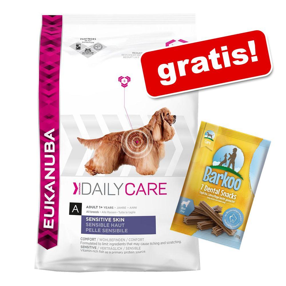 12 – 15 kg Eukanuba hundmat + 7 st Barkoo Dental på köpet! – German Shepherd / Schäfer (12 kg)