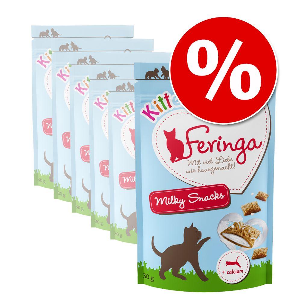 Image of Prezzo prova! 3 x 30 g Feringa Kitten Milky Snack - 3 x 30 g