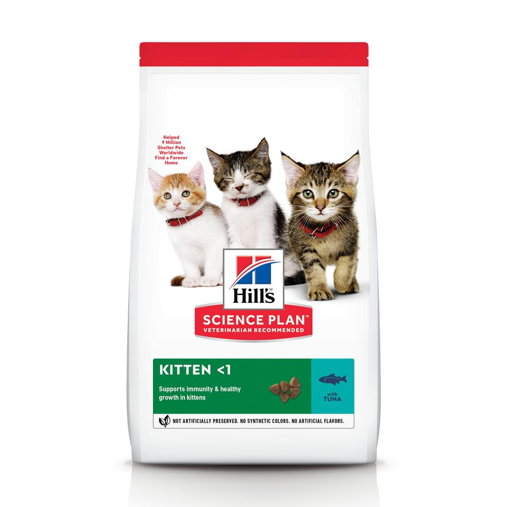 7kg Kitten Healthy Development Hill's Feline Thon Croquettes pour chaton