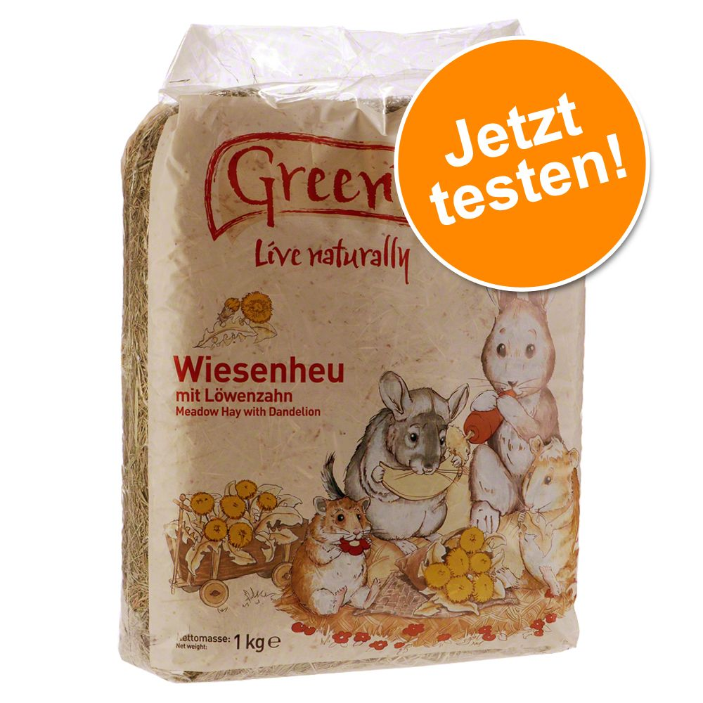 Probierknaller Greenwoods Wiesenheu 1 kg - Karotte