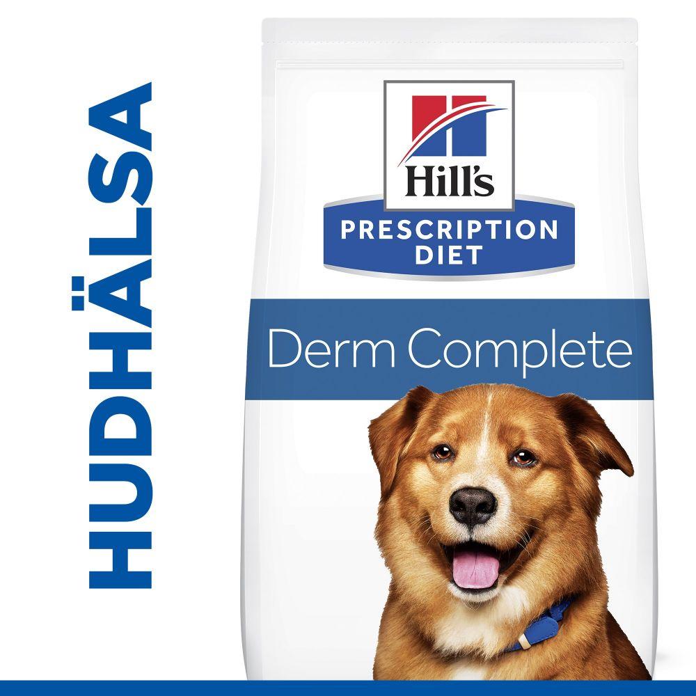 Hill's Prescription Diet Canine Derm Complete - Ekonomipack: 2 x 12 kg