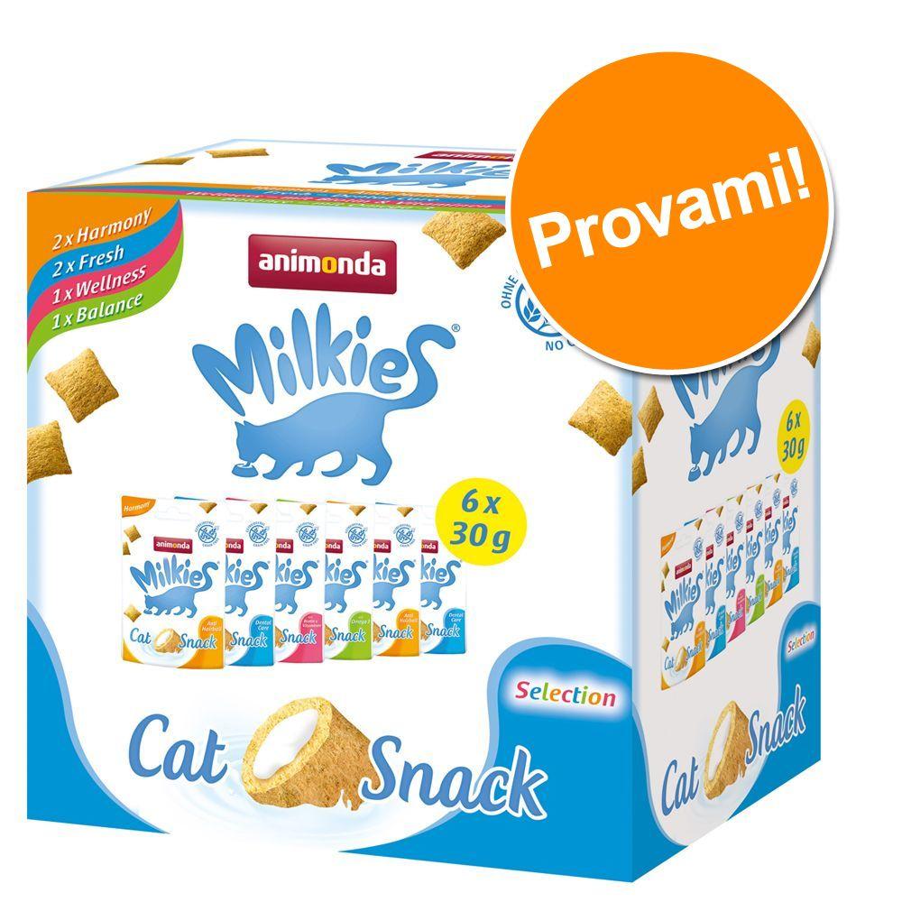 Image of Pacco scorta! Animonda Milkies 6 x 30 g - 6 x 30 g (4 varianti)
