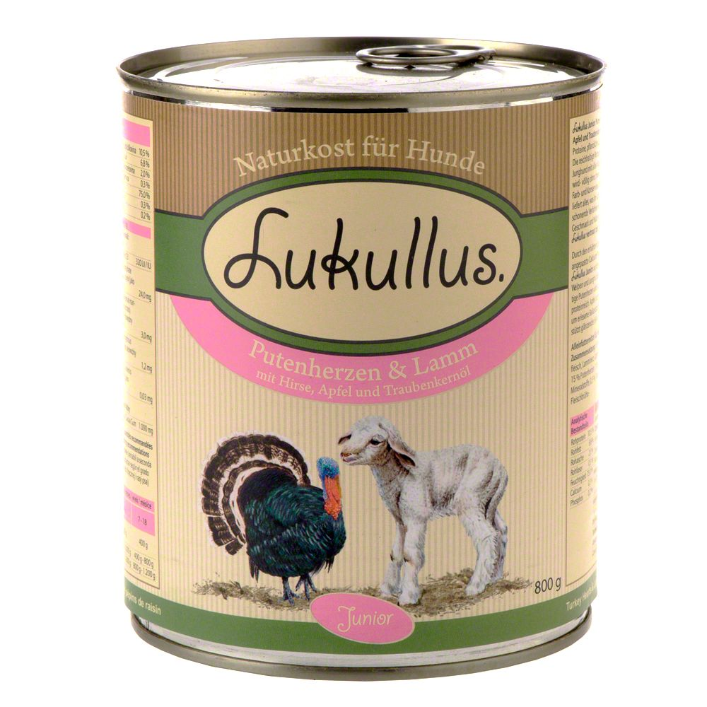 Lukullus Junior Saver Pack 24 x 800g - Chicken & Veal