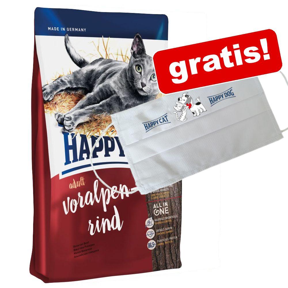 4 kg/10 kg Happy Cat + skyddsmask på köpet! - Sensitive Grainfree Rabbit (4 kg)