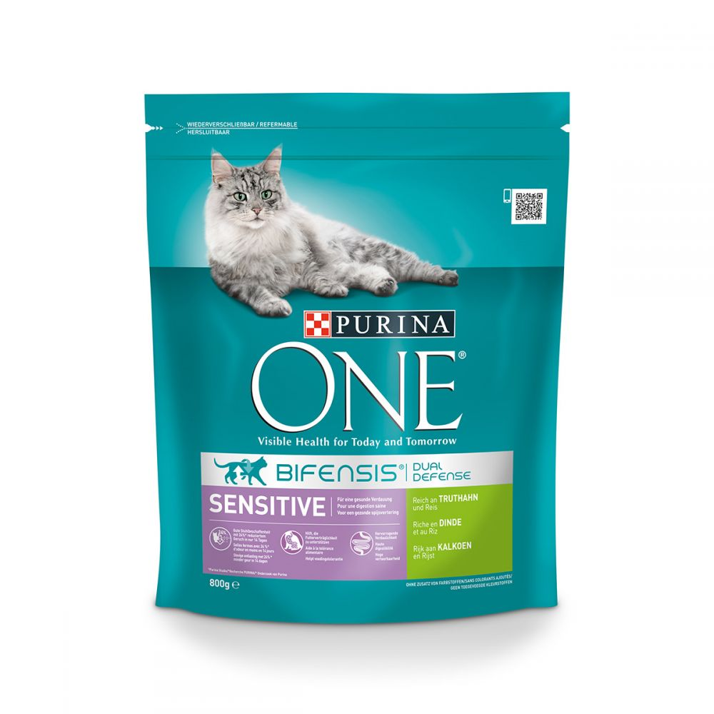 Sensitive Turkey Purina One Dry Cat Food
