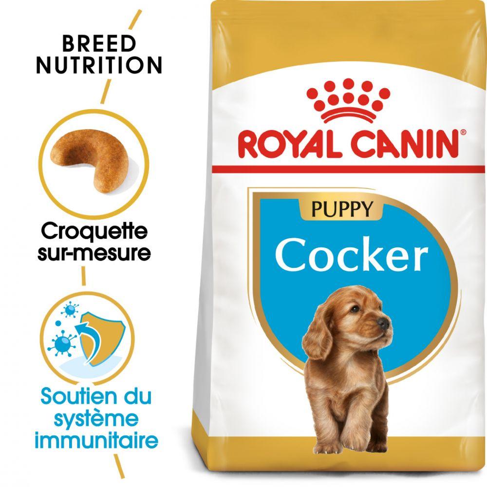 3x3kg Cocker Puppy Chiot Royal Canin - Croquettes pour chien