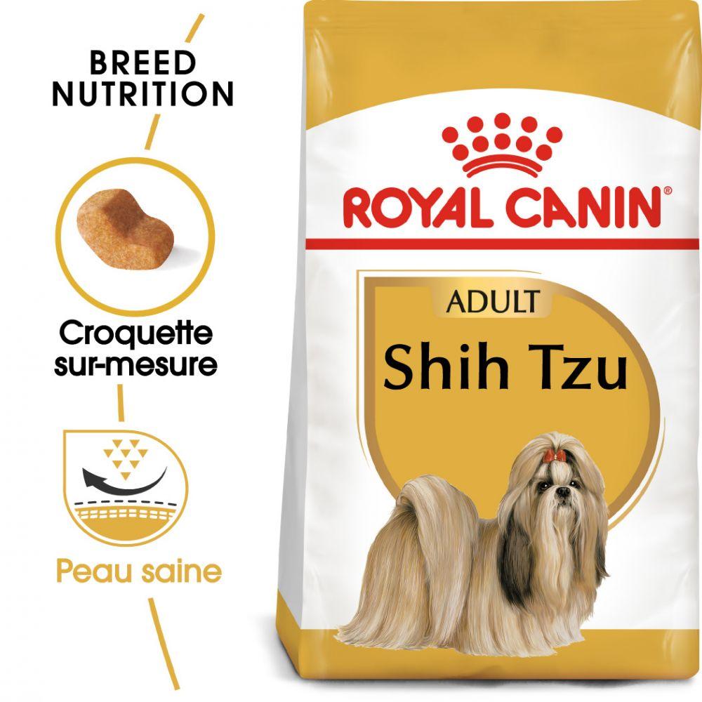 7,5kg Shih Tzu Adult Royal Canin - Croquettes pour chien