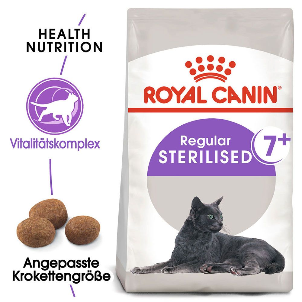 Royal Canin Sterilised 7+ - 3,5 kg