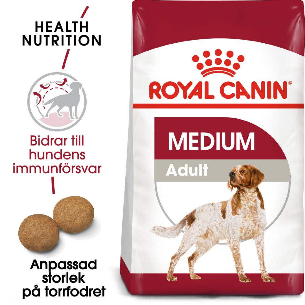 Royal Canin Medium Adult Ekonomipack: 2 x 15 kg