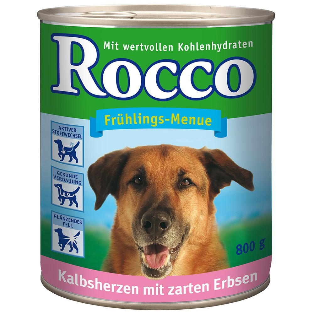 Rocco Spring Menu, 6 x 80