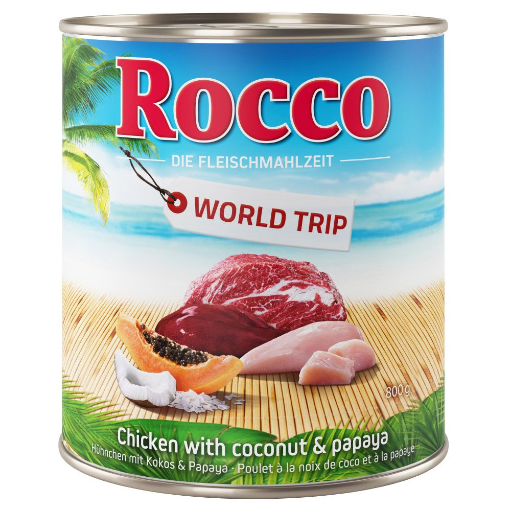 6 x 800g Rocco World Tour