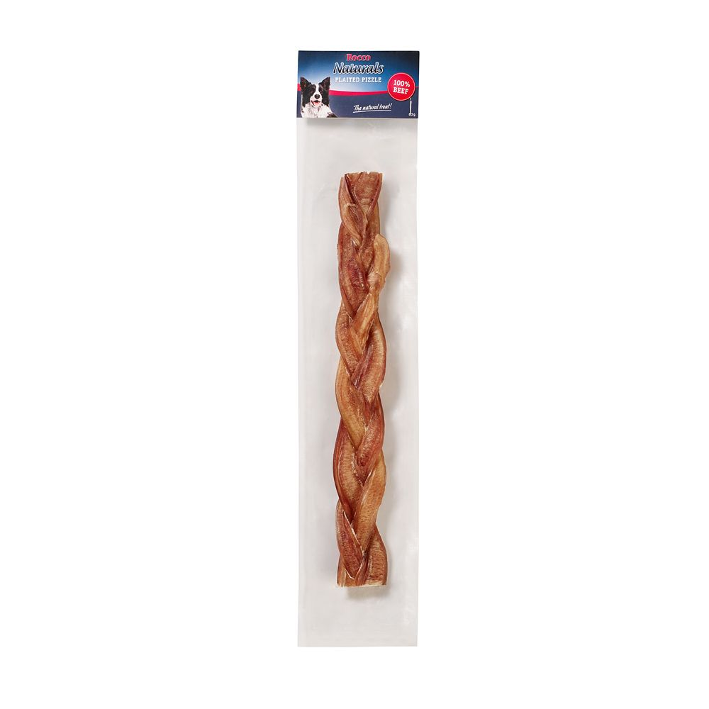 Plaited Pizzle Rocco Dog Chews