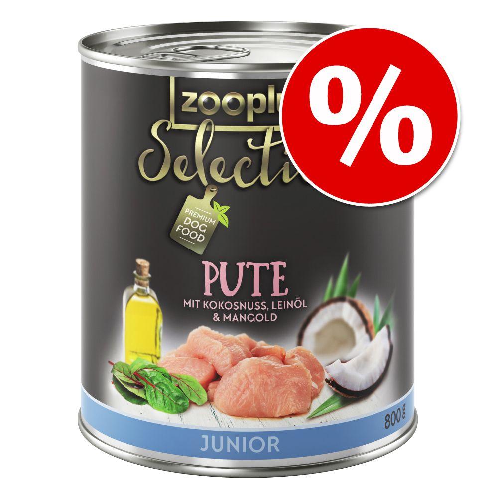 6 x 800 g zooplus Selection zum Sonderpreis! - ...