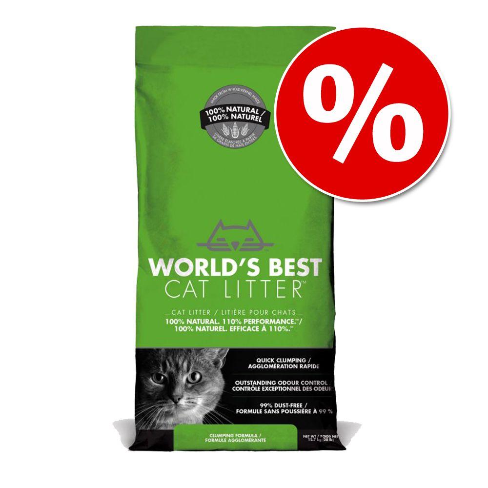 20 % rabatt på 12,7 kg World's Best Cat Litter kattsand! - World's Best Cat Litter Lavender Scented