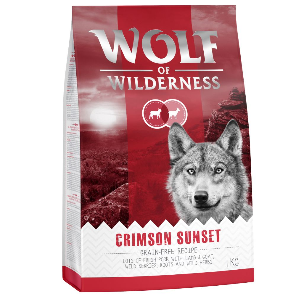 """3 x 1kg Wolf of Wilderness Dry Dog Food - 2 + 1 Free!* - Adult Soft """"""""Blue River"""""""" Salmon (3 x 1kg)"""