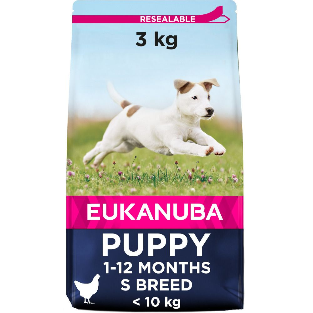 Eukanuba Growing Puppy Small Breed - Chicken - Economy Pack: 3 x 3kg