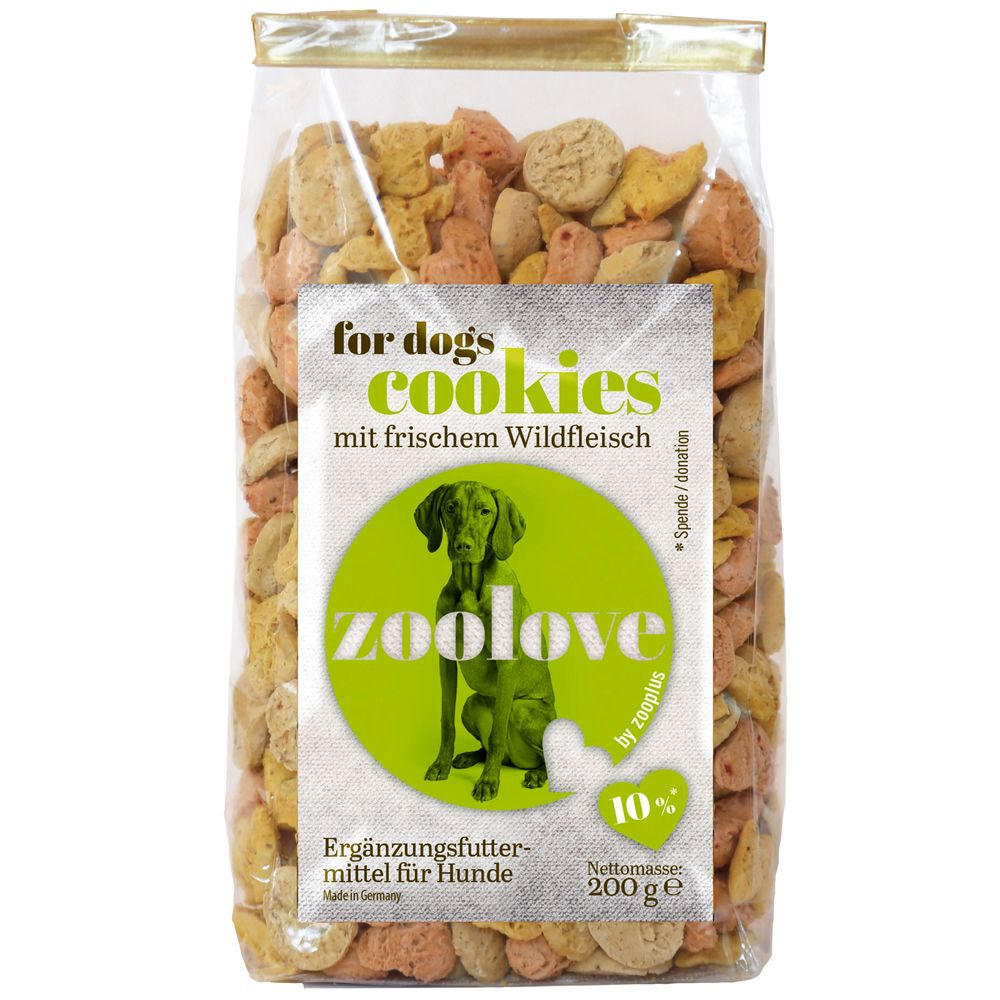 zoolove Dog Treats Saver Pack 3 x 200g