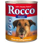 Rocco Classic 6 x 800g - Beef with Veal Hearts