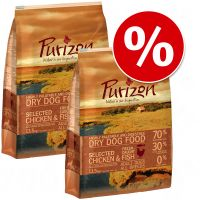 2 x 13,5 kg purizon - - agnello & salmone.
