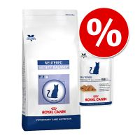 Gemengd pakket Royal Canin Vet Care Nutrition kattenvoer Senior Consult Stage 1