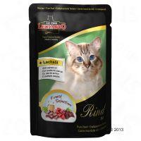 Leonardo Finest Selection Maaltijdzakjes Kattenvoer 6 x 85 g Vis & Garnalen