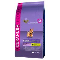 Eukanuba Small Breed Puppy Food - Economy Pack: 2 x 7.5kg