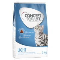 3 kg Concept for Life Light Adult kattenvoer