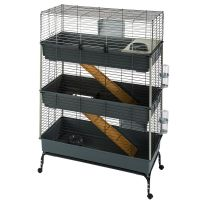 Vital 3-Tier Small Pet Cage 100 - 100 x 51 x 153 cm