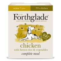 Forthglade Complete Meal Senior 7+ Dog - Chicken - Saver Pack: 36 x 395g