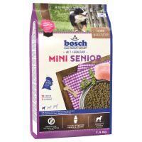 Bosch Mini Senior Dry Dog Food - Economy Pack: 3 x 2.5kg