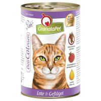 Granatapet DeliCatessen Kattenvoer 6 x 400 g Eend & Gevogelte