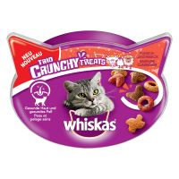 Whiskas Trio Crunchy Treats 55g - Saver Pack: 4 x Meat