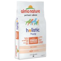 Almo Nature Holistic Medium Puppy Chicken & Rice - Economy Pack: 2 x 12kg