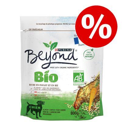 800 g BEYOND BIO Adult -koiranruokaa erikoishintaan! - Fish & Rice