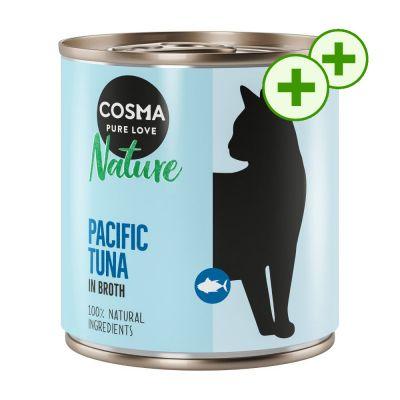 2x zooPisteitä: Cosma Nature -säästöpakkaus 12 x 280 g - kanafile