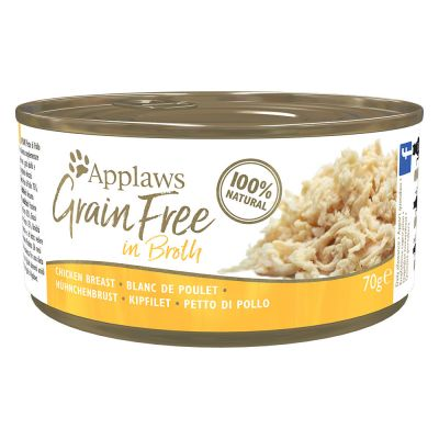 Multiipack Applaws Grainfree in Broth 24 x 70 g