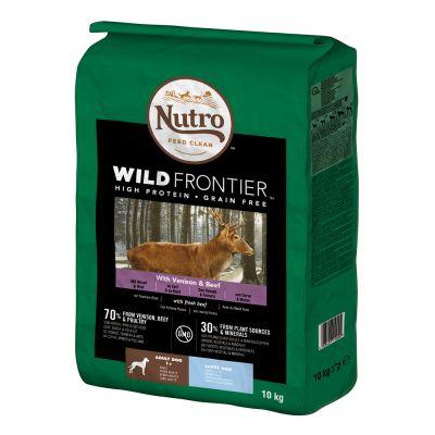 Nutro Wild Frontier Hund Adult Large Hirsch & Rind