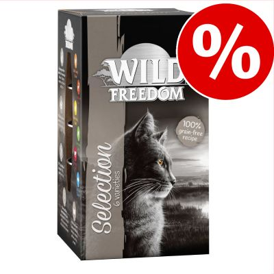 Wild Freedom Adult -rasiat 6 x 85 g kokeiluhintaan! - Farmlands - nauta & kana