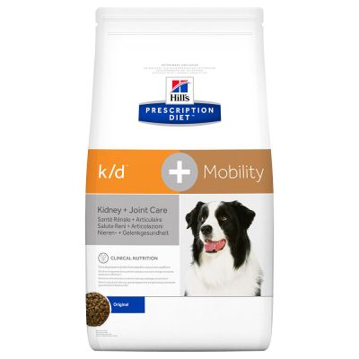 Hill's PD Canine k/d + Mobility Kidney + Joint Care - 12 kg