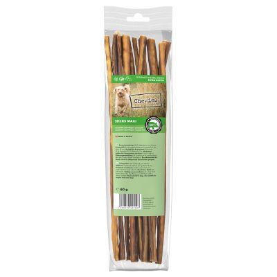 Chewies Sticks Maxi -sikaherkut - 3 x 60 g