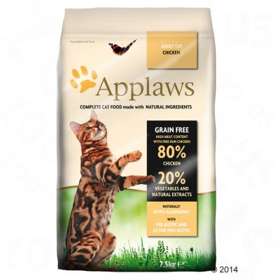 Image of 400 g Applaws + 6 x 70 g Applaws im Probierset! - Huhn