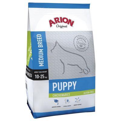 Arion Original Puppy Medium Breed Chicken & Rice - 12 kg