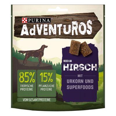 Purina AdVENTuROS rico en ciervo con granos ancestrales - 12 x 90 g - Pack Ahorro